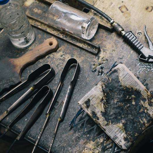 Glassblowing Tools