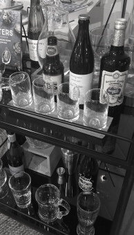 Stock the Home Bar Cart