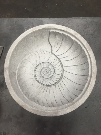 Shell Platter Metal Mold