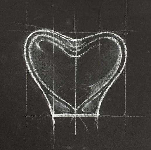 Sketch of Romance Vase
