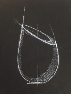 Sketch of Wine Chiller