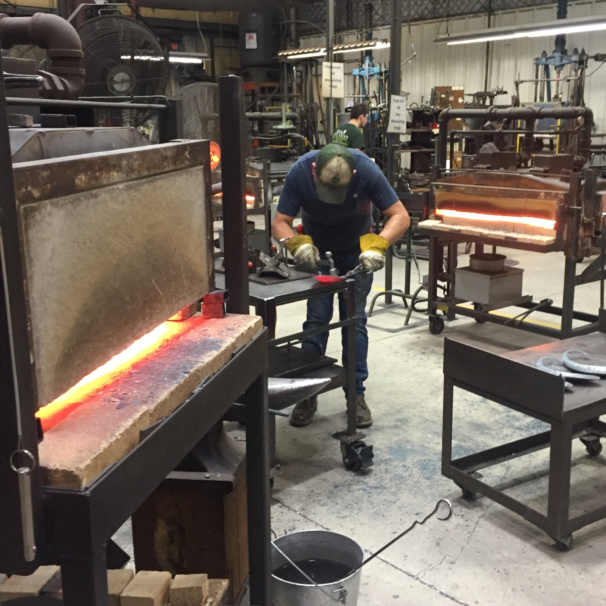 Blacksmiths at the Hubbardton Forge