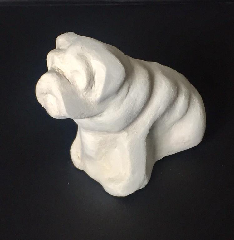 Derby clay model
